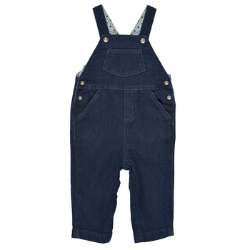 Textiel Jongens Jumpsuites / Tuinbroeken Petit Bateau MILIBERT Blauw