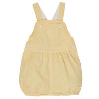 Textiel Meisjes Jumpsuites / Tuinbroeken Petit Bateau MERINE Geel