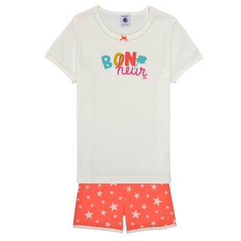 Textiel Meisjes Pyjama's / nachthemden Petit Bateau MARSHA Multicolour