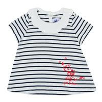Textiel Meisjes T-shirts korte mouwen Petit Bateau MELIANE Multicolour
