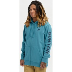 Textiel Heren Sweaters / Sweatshirts Burton Men's Elite Full Zip Hoodie Storm Blue