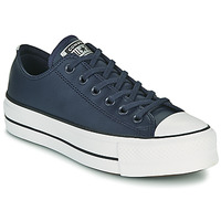 Schoenen Dames Lage sneakers Converse CHUCK TAYLOR ALL STAR LIFT ANODIZED METALS OX Blauw