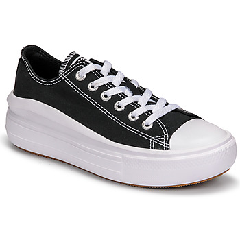 Schoenen Dames Lage sneakers Converse CHUCK TAYLOR ALL STAR MOVE CANVAS COLOR OX Zwart