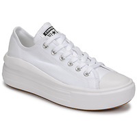 Schoenen Dames Lage sneakers Converse CHUCK TAYLOR ALL STAR MOVE CANVAS COLOR OX Wit