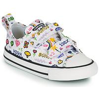 Schoenen Meisjes Lage sneakers Converse CHUCK TAYLOR ALL STAR 2V GIRLS GAMER OX Wit / Multikleuren