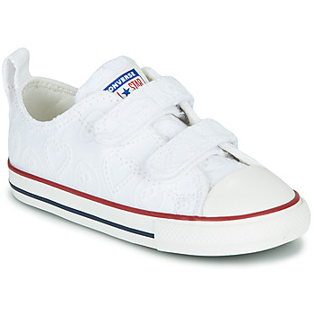 Schoenen Meisjes Lage sneakers Converse CHUCK TAYLOR ALL STAR 2V LOVE CEREMONY OX Wit