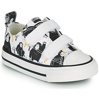 Schoenen Kinderen Lage sneakers Converse CHUCK TAYLOR ALL STAR 2V GOING BANANAS OX Wit / Multicolour