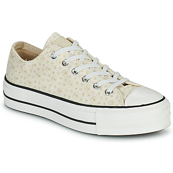 Schoenen Dames Lage sneakers Converse CHUCK TAYLOR ALL STAR LIFT CANVAS BRODERIE OX Wit