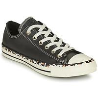 Schoenen Dames Lage sneakers Converse CHUCK TAYLOR ALL STAR ARCHIVE DETAILS OX Zwart / Leopard