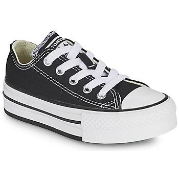 Schoenen Meisjes Lage sneakers Converse CHUCK TAYLOR ALL STAR EVA PLATFORM FOUNDATION OX Zwart