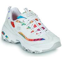 Schoenen Dames Lage sneakers Skechers D'LITES SUMMER FIESTA Wit / Multicolour