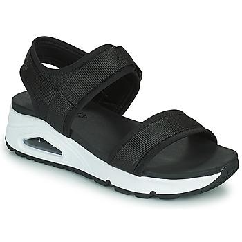 Schoenen Dames Sandalen / Open schoenen Skechers UNO Zwart