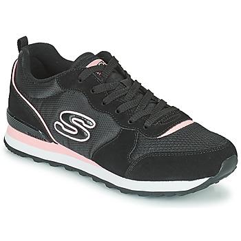 Schoenen Dames Lage sneakers Skechers OG 85 Zwart / Roze