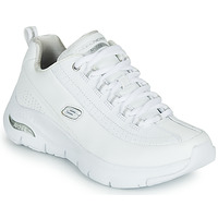 Schoenen Dames Lage sneakers Skechers ARCH FIT Wit