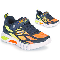 Schoenen Jongens Lage sneakers Skechers FLEX-GLOW Marine / Orange