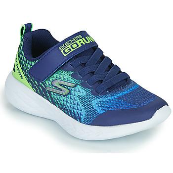 Schoenen Jongens Lage sneakers Skechers GO RUN 600 Blauw / Groen