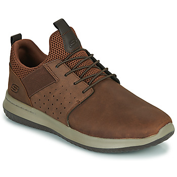 Schoenen Heren Lage sneakers Skechers DELSON AXTON Brown