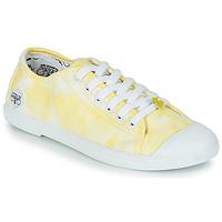 Schoenen Dames Lage sneakers Le Temps des Cerises BASIC 02 Geel