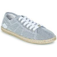 Schoenen Dames Lage sneakers Le Temps des Cerises BEACH Blauw / Wit