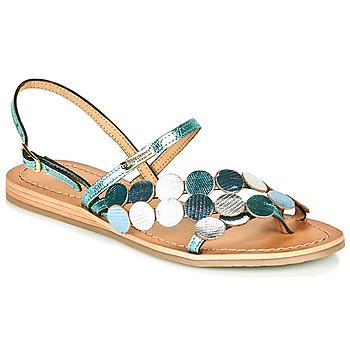 Schoenen Dames Sandalen / Open schoenen Les Tropéziennes par M Belarbi HOLO Zilver / Blauw