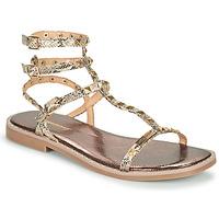 Schoenen Dames Sandalen / Open schoenen Les Tropéziennes par M Belarbi COROL Beige / Python