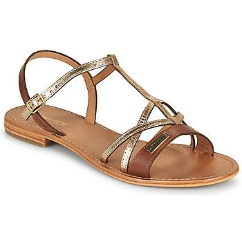 Schoenen Dames Sandalen / Open schoenen Les Tropéziennes par M Belarbi HIRONELA Tan / Zilver