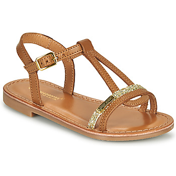 Schoenen Meisjes Sandalen / Open schoenen Les Tropéziennes par M Belarbi BADA Honing / Goud