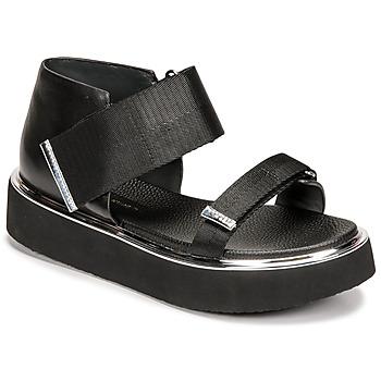 Schoenen Dames Sandalen / Open schoenen United nude VITA SANDAL LO Zwart
