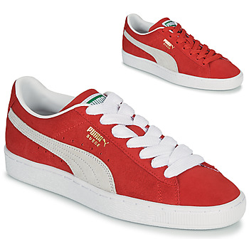 Schoenen Lage sneakers Puma SUEDE Rood