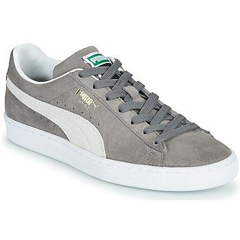 Schoenen Lage sneakers Puma SUEDE Grijs