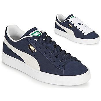 Schoenen Heren Lage sneakers Puma SUEDE Blauw