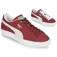 Schoenen Lage sneakers Puma SUEDE Bordeaux