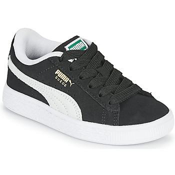 Schoenen Kinderen Lage sneakers Puma SUEDE PS Zwart