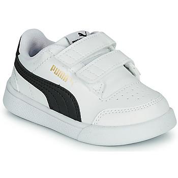 Schoenen Kinderen Lage sneakers Puma SHUFFLE INF Wit / Zwart