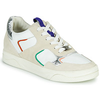 Schoenen Dames Lage sneakers Mam'Zelle ARTIX Wit / Multicolour