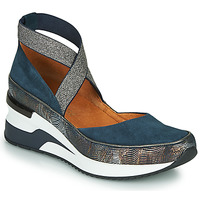Schoenen Dames Lage sneakers Mam'Zelle VOLOU Blauw / Zilver
