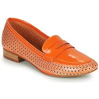 Schoenen Dames Mocassins Mam'Zelle ZIP Orange