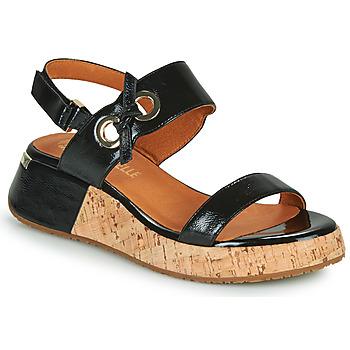 Schoenen Dames Sandalen / Open schoenen Mam'Zelle CLIP Zwart