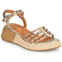 Schoenen Dames Sandalen / Open schoenen Mam'Zelle CALVA Beige