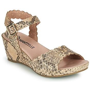 Schoenen Dames Sandalen / Open schoenen Mam'Zelle DOUGA Beige