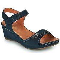 Schoenen Dames Sandalen / Open schoenen Mam'Zelle DARDA Blauw