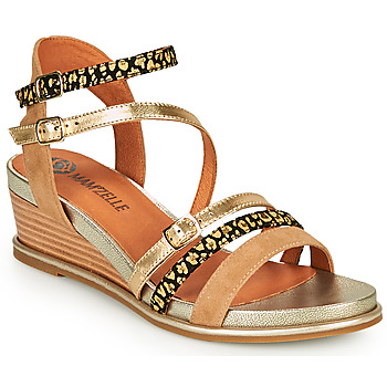 Schoenen Dames Sandalen / Open schoenen Mam'Zelle NAGA Beige / Orange