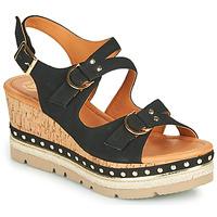 Schoenen Dames Sandalen / Open schoenen Mam'Zelle PAPOTE Zwart