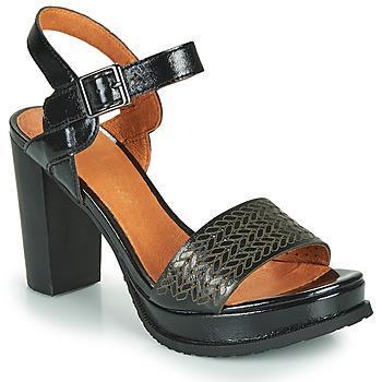 Schoenen Dames Sandalen / Open schoenen Mam'Zelle JOBA Zwart