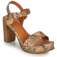 Schoenen Dames Sandalen / Open schoenen Mam'Zelle JAIN Beige