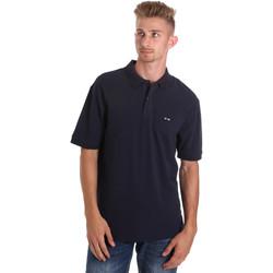Textiel Heren Polo's korte mouwen Les Copains 9U9015 Blauw