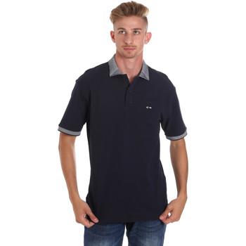 Textiel Heren Polo's korte mouwen Les Copains 9U9024 Blauw