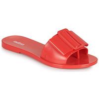 Schoenen Dames Leren slippers Melissa BABE AD Rood