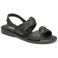 Schoenen Dames Sandalen / Open schoenen Melissa VELVET SANDAL AD Zwart