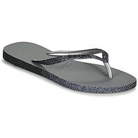 Schoenen Dames Slippers Havaianas SLIM SPARKLE II Grijs